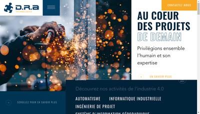 Site internet de DRA Technologies