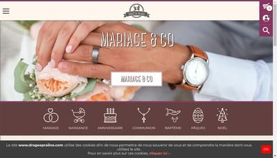 Site internet de La Dragee de Valence SA