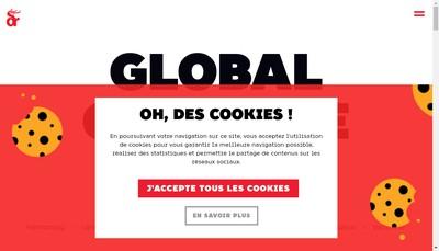 Site internet de Dragon Rouge International France - Drif