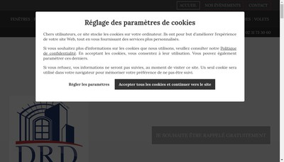 Site internet de SARL Drd