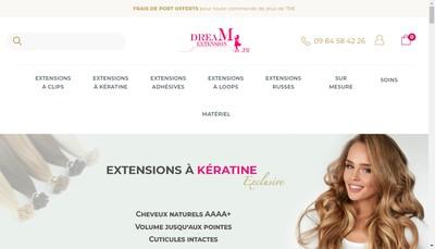 Site internet de Dream Extension