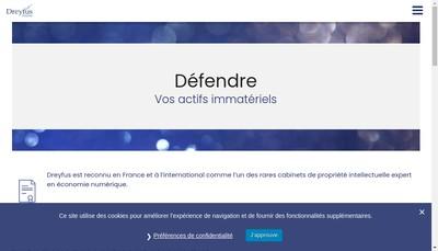 Site internet de Dreyfus