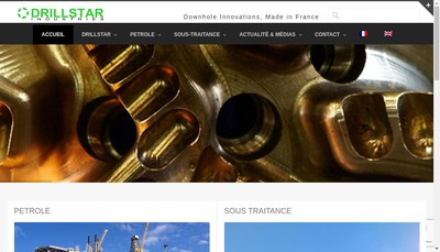 Site internet de Drillstar Industries