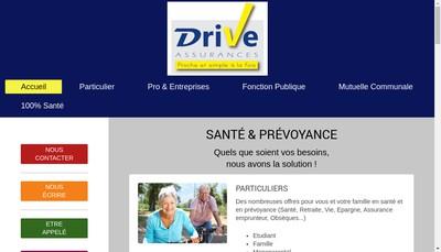 Site internet de Drive Assurances