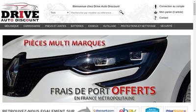 Site internet de Drive Auto Discount