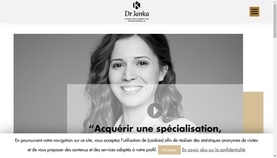 Site internet de Laboratoire Dr Reiner Janka Biocosmetic International