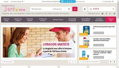 Site internet de Quincaillerie Centrale