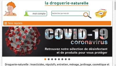 Site internet de La Droguerie Strasbourgeoise