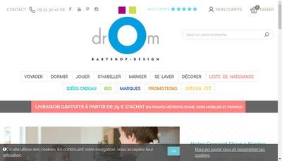 Site internet de Drom