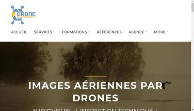 Site internet de Drone Developpement