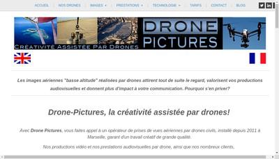 Site internet de DRONE PICTURES