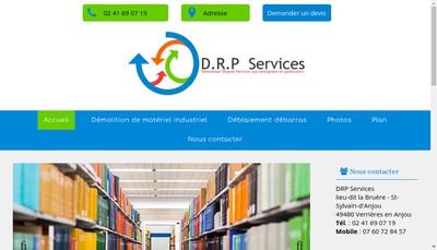 Site internet de Drp Services