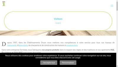 Site internet de Etablissements Druon