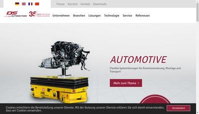 Site internet de Ds Automotion