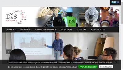 Site internet de Safety Shop