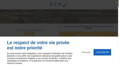 Site internet de Societe de Demolitions Travaux Publics