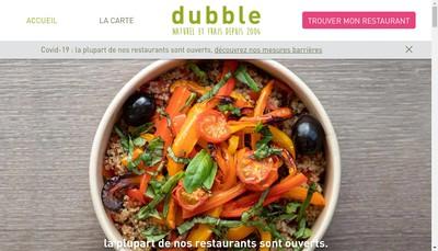 Site internet de Dubble Kiosk