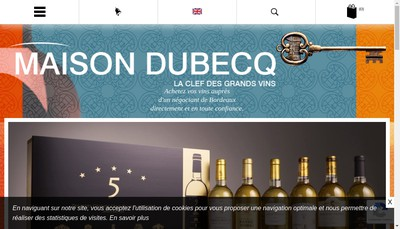Site internet de Maison F Dubecq