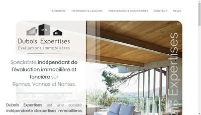 Site internet de Frederic Dubois