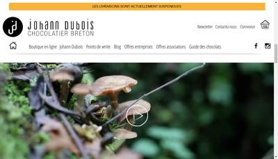 Site internet de Johann Dubois