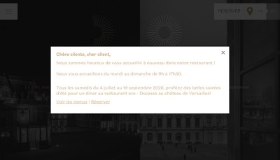 Site internet de Societe d'Exploitation du Pavillon Dufour