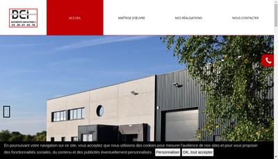 Site internet de DCI