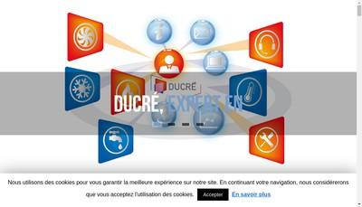 Site internet de Societe Nouvelle Ducre