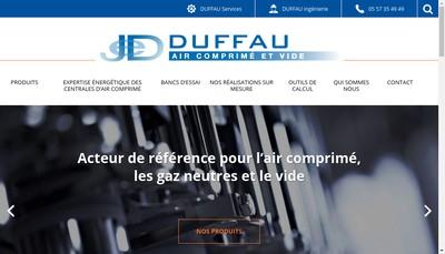 Site internet de Duffau
