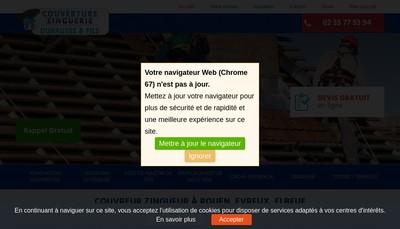 Site internet de Duhausse et Fils