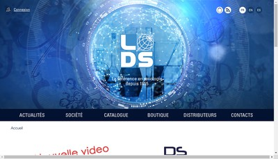 Site internet de Laboratoires Dujardin Salleron