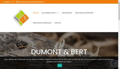 Site internet de Dumont & Bert