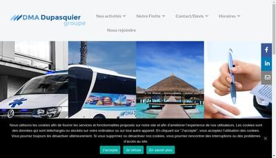 Site internet de Taxis et Ambulances Dupasquier
