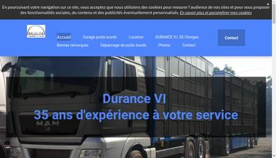 Site internet de Durance Vi 05
