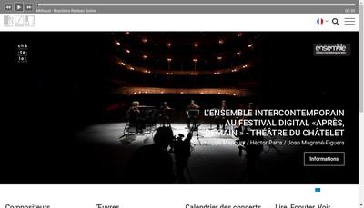 Site internet de Editions Salabert SA France