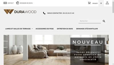 Site internet de Durawood