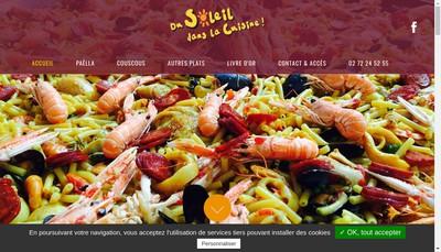 Site internet de Du Soleil Dans la Cuisine Normandie