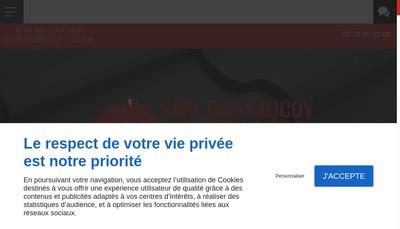 Site internet de SARL Dussaucoy Patrick et Fils