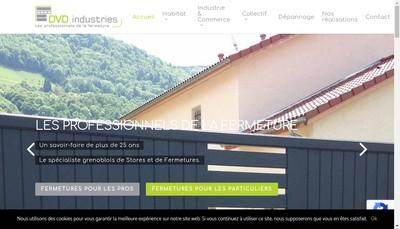 Site internet de Dvd Industries