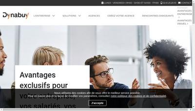 Site internet de Dynabuy