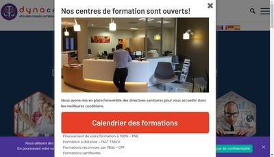 Site internet de Dynacentrix