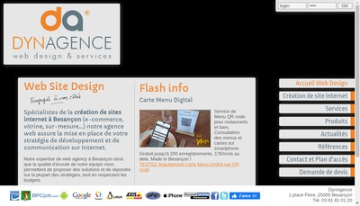 Site internet de Bfcjob Com - Besac Com - FC Zoom - Belfort-Zoom Fr - Besancon-Zoom Fr