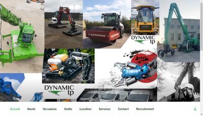 Site internet de Dynamic Tp
