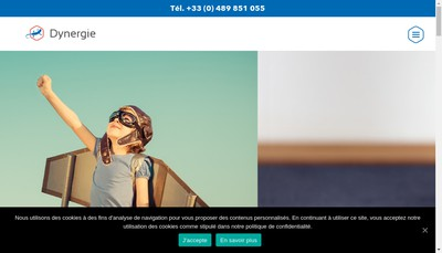 Site internet de Dynergie Group
