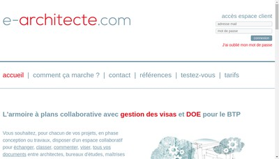 Site internet de E-Architecte