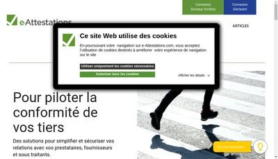 Site internet de Certicorps