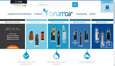 Site internet de Brumair