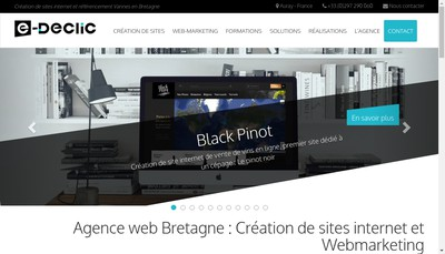 Site internet de E-Declic