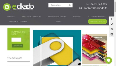 Site internet de E-Dkado