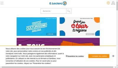 Site internet de Leclerc Eco