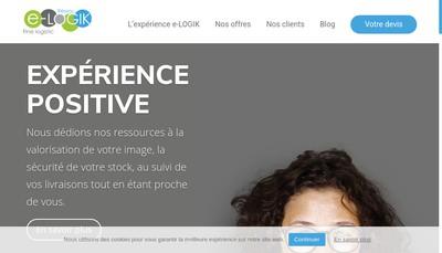 Site internet de E-Logik